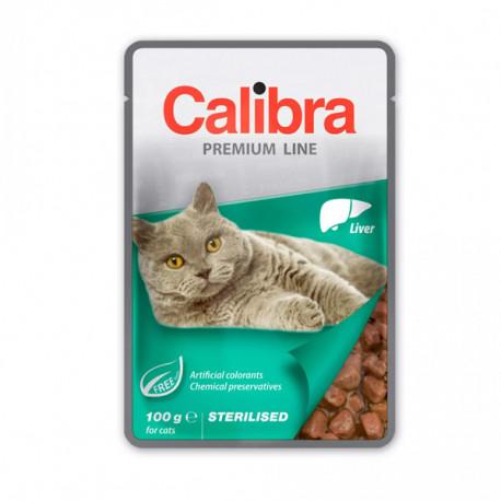 Calibra Cat Premium Sterilised Liver 100g Calibra - 1