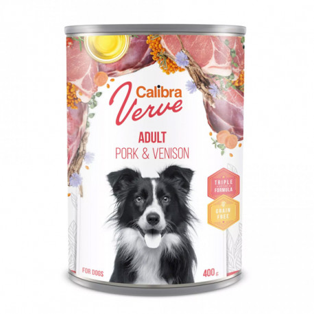 Calibra Dog Verve GF Adult Pork&Venison 400g Calibra - 1
