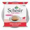 Schesir Cat Petit Delice Tuniak a hovädzie 2x40g Agras Delic - 1