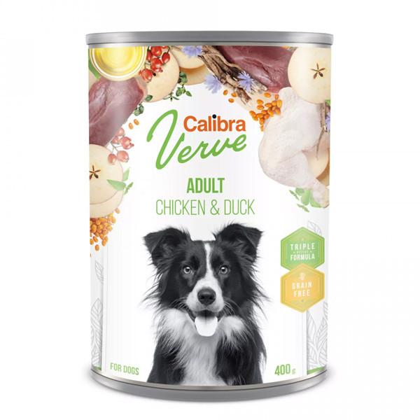 Calibra Dog Verve GF Adult Chicken&Duck 400g Calibra - 1