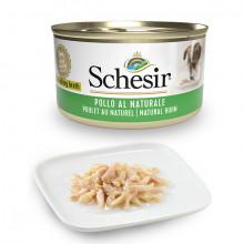 Schesir Dog Adult Petit Cousine - Kuracie filety 85g Agras Delic - 1