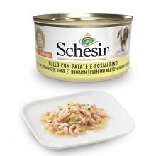 Schesir Dog Adult Petit Cousine - Kuracie filety so zemiakmi a rozmarínom 85g Agras Delic - 1