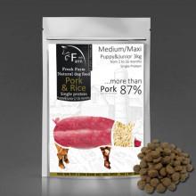 Fresh Farm Puppy&Junior Single Protein Medium&Maxi - Pork & Rice 3kg Fresh Farm - 1