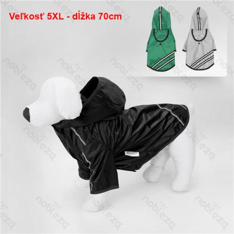 Reflexný pršiplášť pre psa Nobleza 5XL 70cm Nobleza - 1