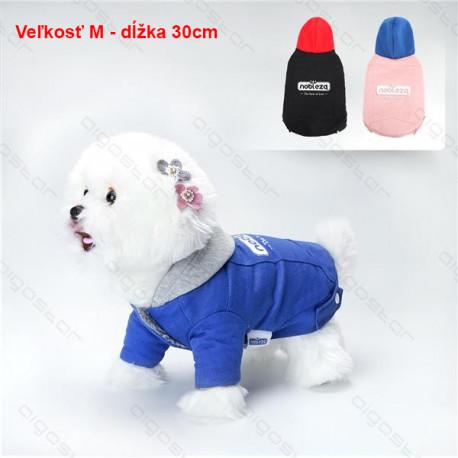 Kabát 2 Colors pre psa Nobleza M 30cm Nobleza - 1