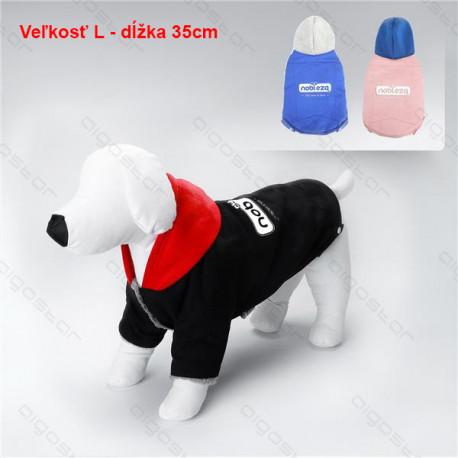Kabát 2 Colors pre psa Nobleza L 35cm Nobleza - 1
