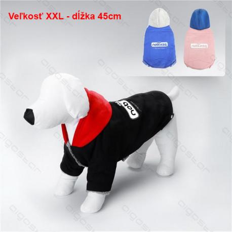 Kabát 2 Colors pre psa Nobleza XXL 45cm Nobleza - 1