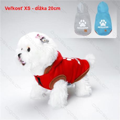 Mikina Walking Dog pre psa Nobleza XS 20cm Nobleza - 1