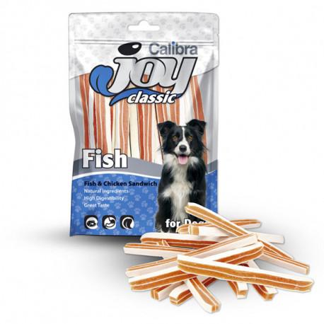 Calibra Joy Dog Classic Fish&Chicken Sandwich 80g Calibra - 1