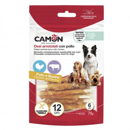 Camon Treats&Snacks Dog - Tyčinky z kože obalené kuracím mäsom 70g Camon - 2