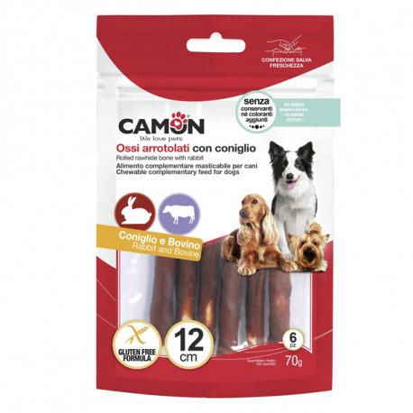 Camon Treats&Snacks Dog - Tyčinky z kože obalené králičím mäsom 70g Camon - 2