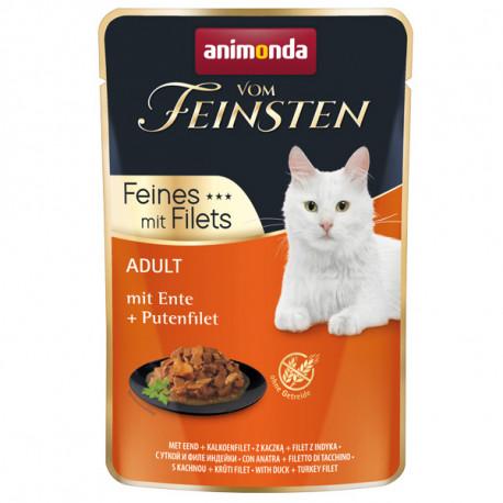 Animonda Vom Feinsten Adult Cat - Kačica a morčacie filety 85g Animonda - 1