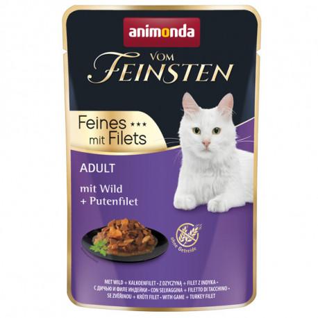 Animonda Vom Feinsten Adult Cat - Divina a morčacie filety 85g Animonda - 1
