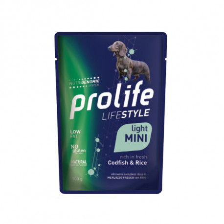 Prolife Dog Lifestyle Light Mini - Treska s ryžou 100g Zoodiaco - 1