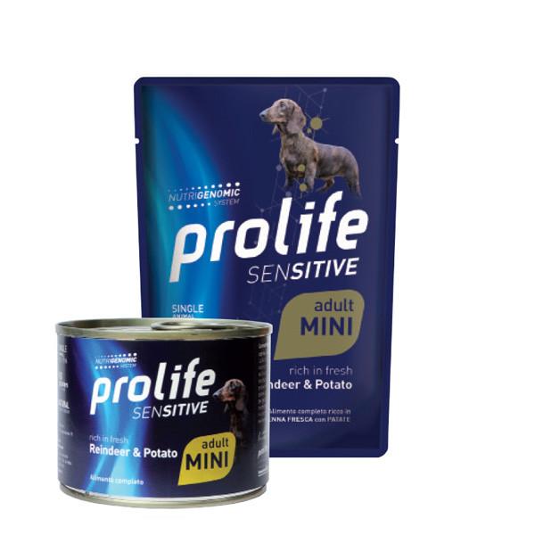 Prolife Dog Sensitive Adult Mini - Sob a zemiaky 100g Zoodiaco - 1