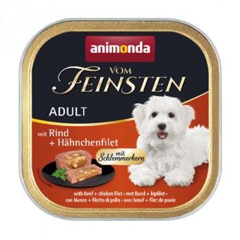Animonda Vom Feinsten Adult - Hovädzie plnené kuracím filetom 150g Animonda - 1