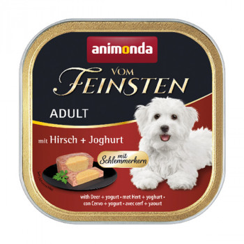 Animonda Vom Feinsten Adult - Jeleň plnený jogurtom 150g Animonda - 1