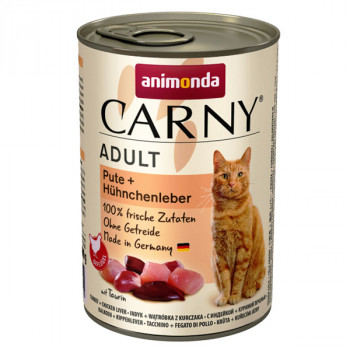 Animonda Carny Adult - Morka a kuracia pečeň 200g Animonda - 2