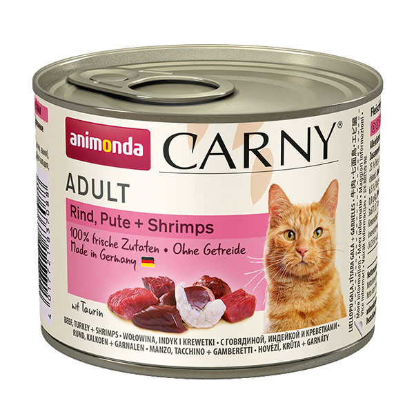 Carny Adult - Hovädzie, morka a krevety 200g Animonda - 1