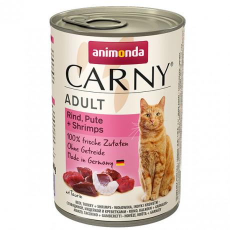 copy of Carny Adult - Hovädzie, morka a krevety 200g Animonda - 1