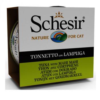 Schesir- Tuniak s lampuki 85g Agras Delic - 1