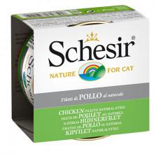 Schesir Natural - Kuracie filety 85g Agras Delic - 1