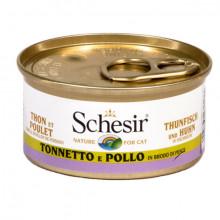 Schesir - Tuniak s kuracím vo vývare 70g Agras Delic - 2