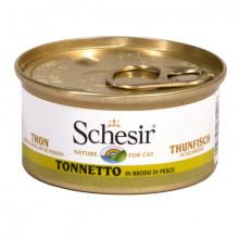 Schesir - Tuniak vo vývare 70g Agras Delic - 2