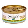 Schesir - Tuniak s pražmou vo vývare 70g Agras Delic - 2