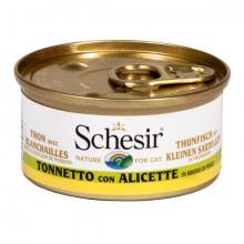 Schesir - Tuniak s ančovičkami vo vývare 70g Agras Delic - 2