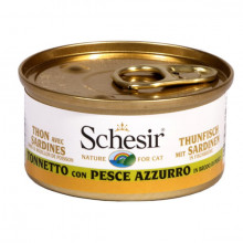 Schesir - Tuniak so sardinkami vo vývare 70g Agras Delic - 2
