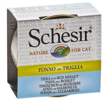 Schesir - Tuniak s parmicou vo vývare 70g Agras Delic - 1