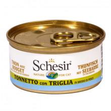 Schesir - Tuniak s parmicou vo vývare 70g Agras Delic - 2