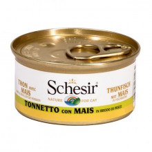 Schesir - Tuniak s kukuricou vo vývare 70g Agras Delic - 2