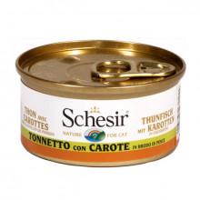 Schesir - Tuniak s mrkvou vo vývare 70g Agras Delic - 2