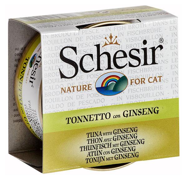 Schesir - Tuniak so ženšenom vo vývare 70g Agras Delic - 1