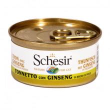Schesir - Tuniak so ženšenom vo vývare 70g Agras Delic - 2