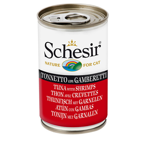 Schesir - Tuniak s krevetami 140g Agras Delic - 1