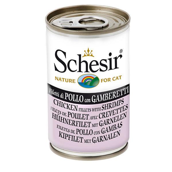 Schesir - Kuracie s krevetami 140g Agras Delic - 1