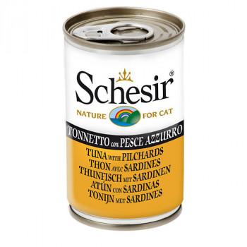 Schesir - Tuniak so sardinkami 140g Agras Delic - 1