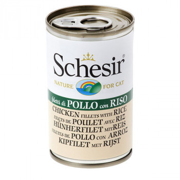 Schesir - Kuracie s ryžou 140g Agras Delic - 1