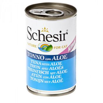 Schesir Kitten - Tuniak s aloe vera 140g Agras Delic - 1