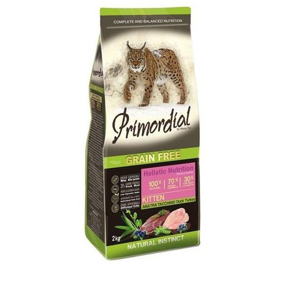 Primordial GF Kitten  Kačacie a morčacie 2kg MisterPet - 1