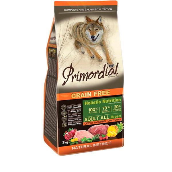 Primordial GF Adult - Jeleň s morčacím 2 kg MisterPet - 1