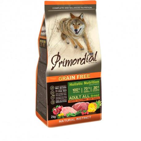 Primordial GF Adult Mini - Jeleň s morčacím 2 kg MisterPet - 1