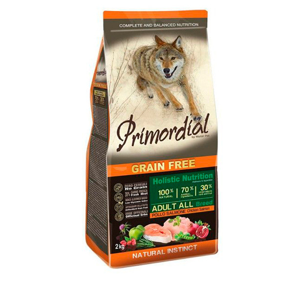 Primordial Adult  - Kuracie a losos 2kg MisterPet - 1