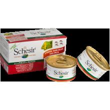 Schesir Dog Multipack - kuracie s hovädzím 4x85g Agras Delic - 1