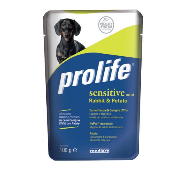 Prolife Sensitive Adult Mini - Králik a zemiaky 100g Zoodiaco - 1