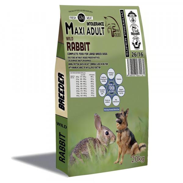 Fresh Farm Rabbit Adult Medium Maxi Intolerance 20kg Fresh Farm - 1