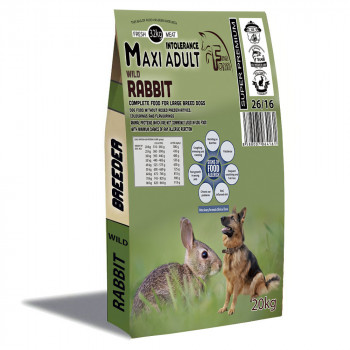 FFM - Rabbit Adult Medium Maxi Intolerance Fresh Farm - 1